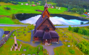 Spectacular Norway aerial video