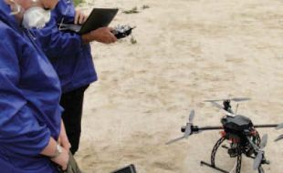 Drones at Work: ImiTec's Radiation Maps