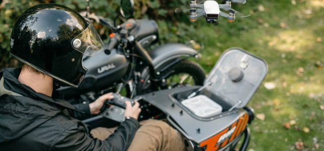Ural Air's Sidebar has a drone attachment!