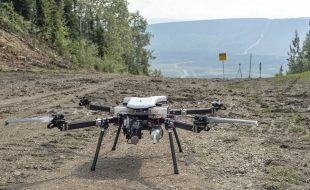Autonomous Drone Flight Over Trans-Alaska Pipeline