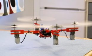Lego Drone Takes Flight
