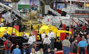 Drones at CONEXPO-CONAGG Show, March 10-14 in Las Vegas