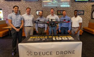 Deuce Drone & Buffalo Wild Wings Delivery
