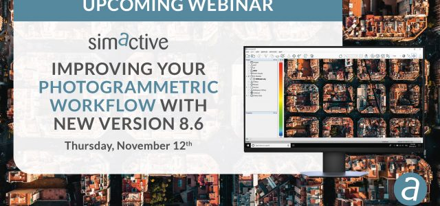 Free webinar: Improve Photogrammetric Workflow